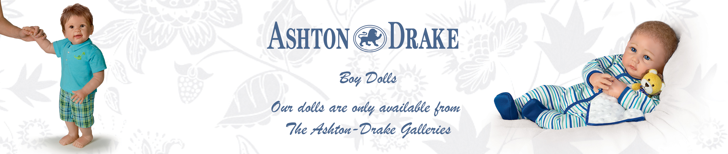 Ashton-Drake Boy Dolls